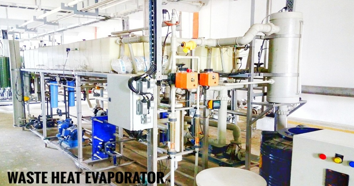 Applications of Waste Water Evaporators