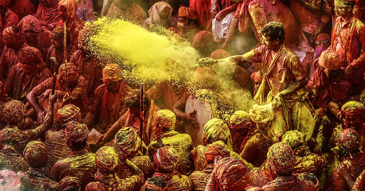 An Eco-friendly Holi for a Colourful Future